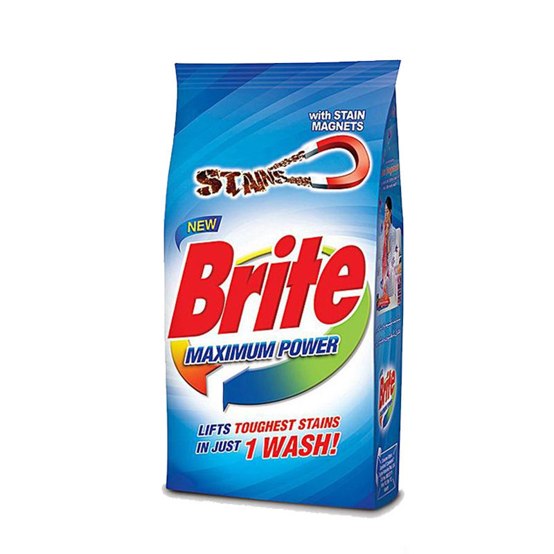 Brite Maximum Power Washing Powder 500gm