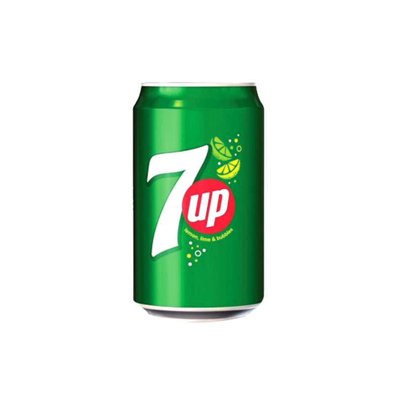 Pepsi 7up Soft Drink Can 330ml PK