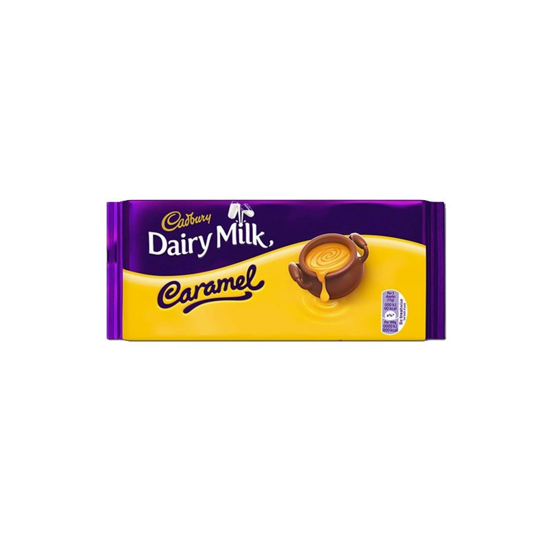 Cadbury Dairy Milk Caramel Chocolate 200gm UK
