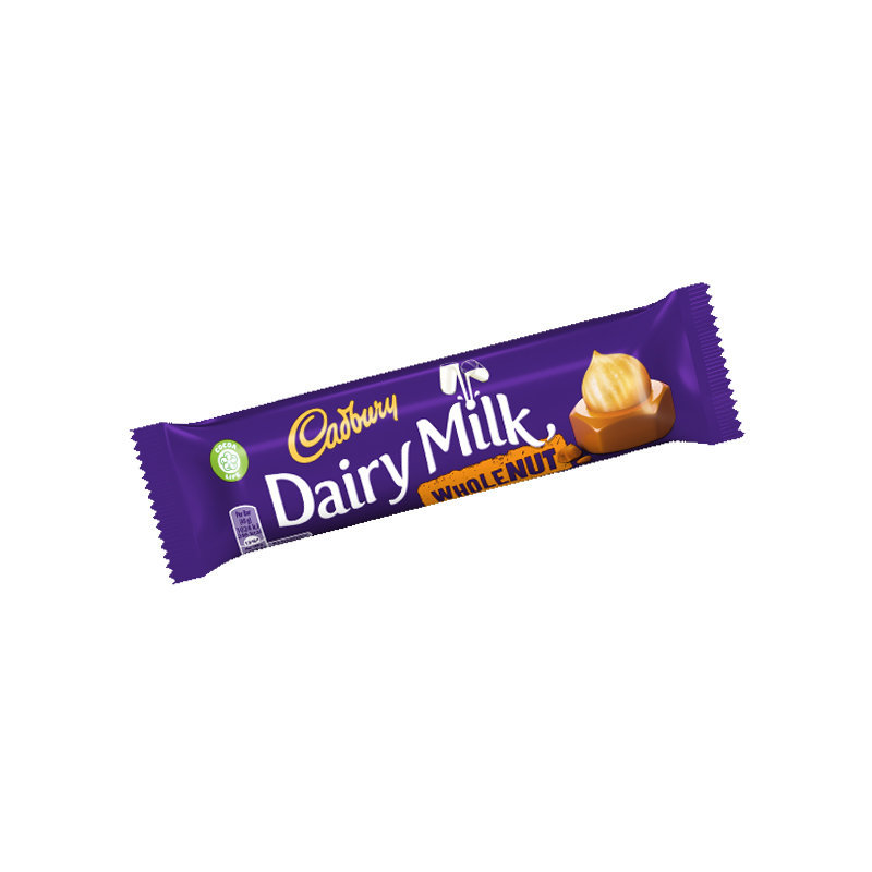 Cadbury Dairy Milk Whole Nut Chocolate 49gm UK