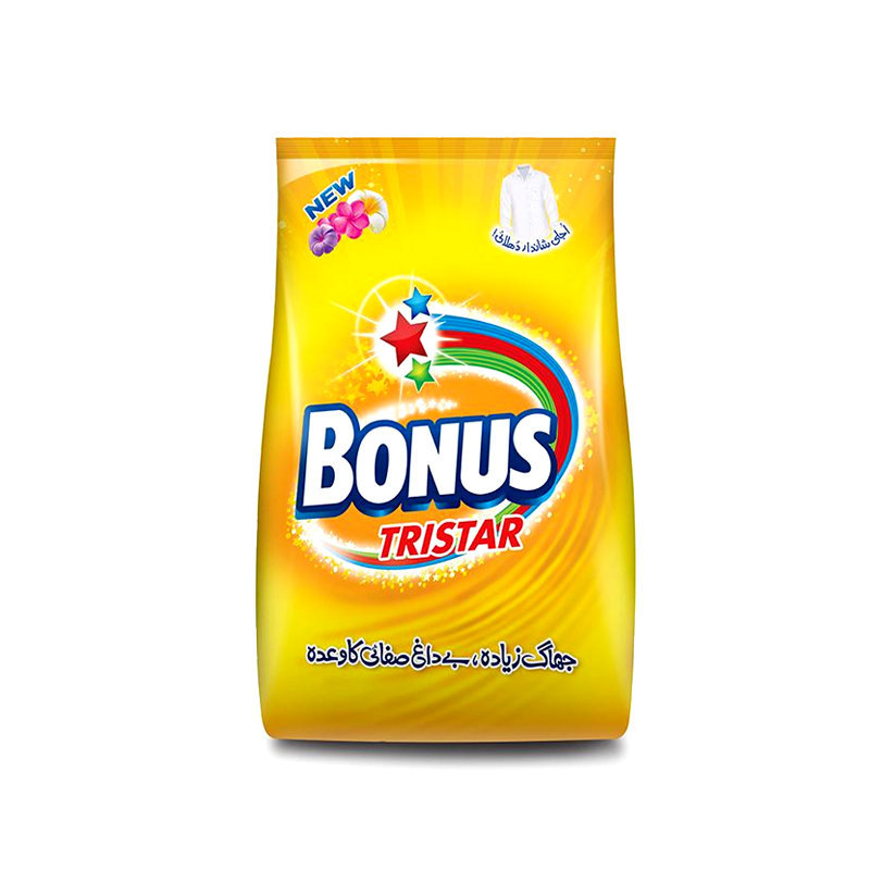 Bonus Tri Star Washing Powder 475gm