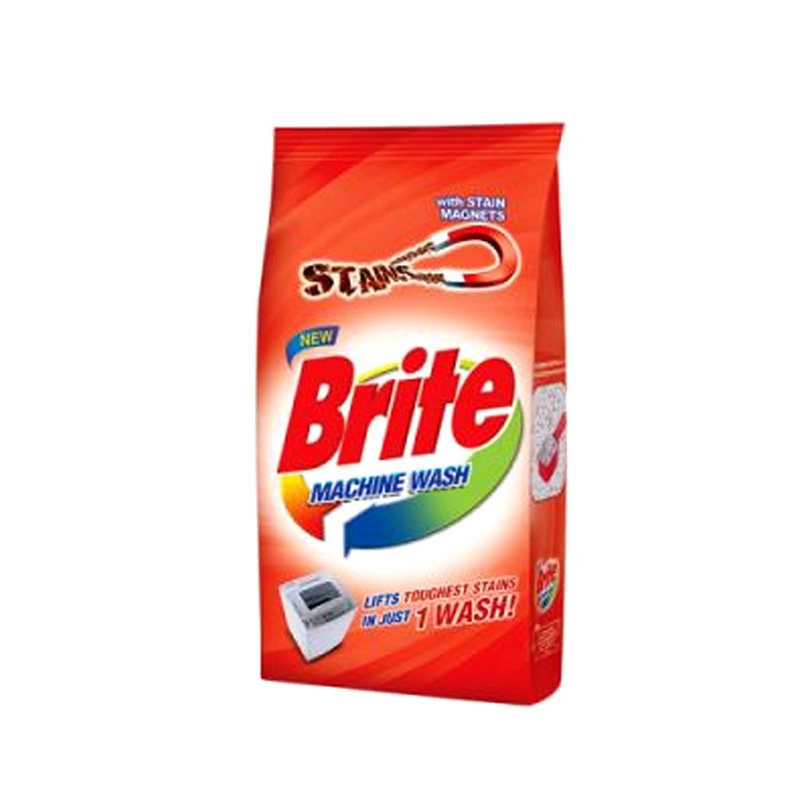 Brite Machine Wash Washing Powder 500gm