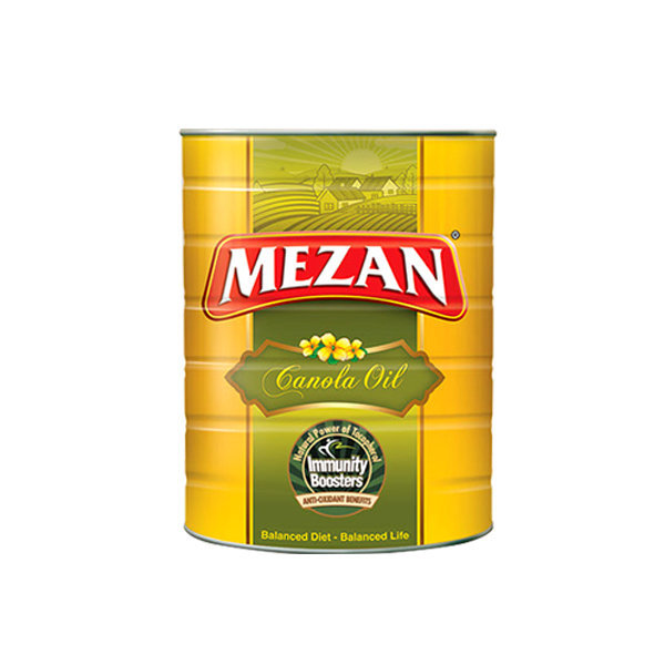 Mezan Canola Cooking Oil Tin 2.5ltr