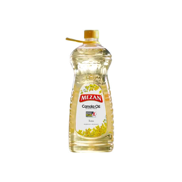 Mezan Canola Cooking Oil Bottle 1ltr