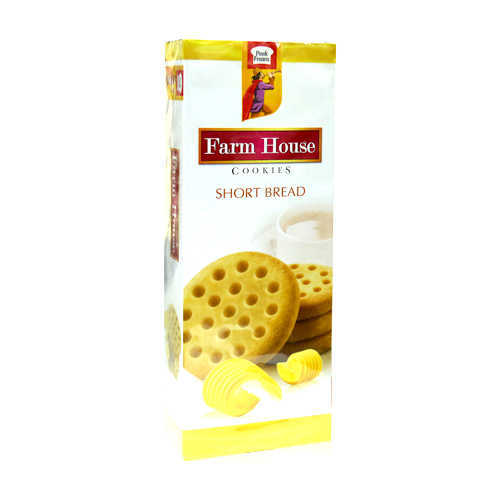 PF Farm House Shortbread Cookies Box 127gm