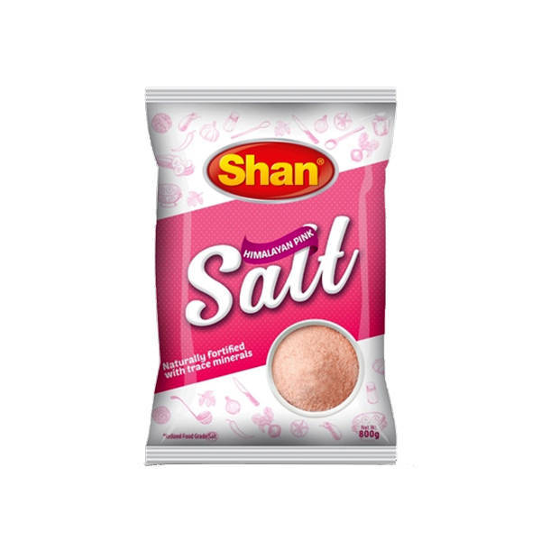 Shan Teast Virgin Pink Himalayan Salt 800gm