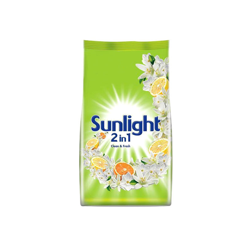 Sun Light Lemon n Orange Washing Powder Pouch 750gm