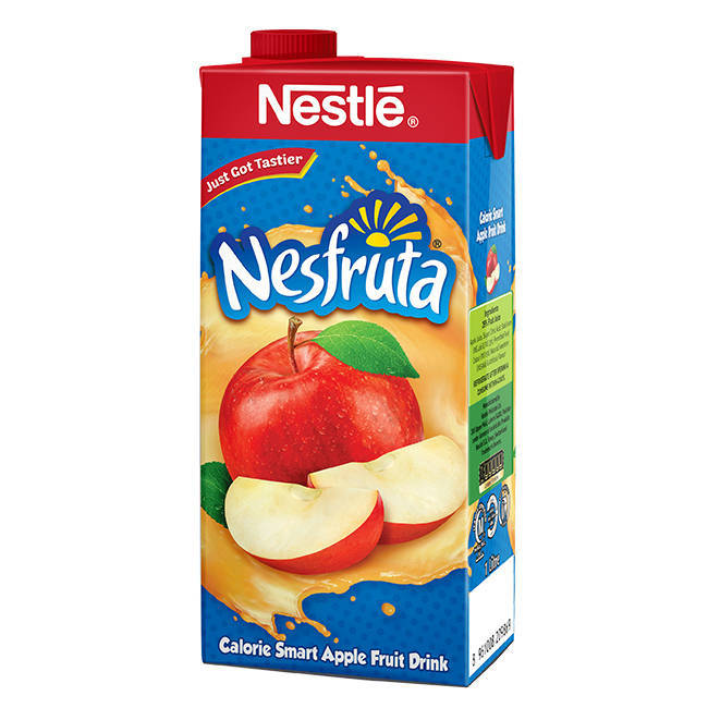 Nestle Nesfruta Apple Juice Tetra Pack 1ltr