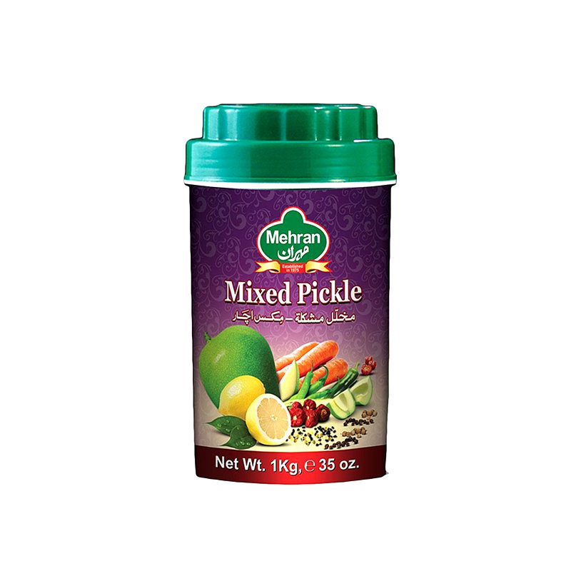 Mehran Mixed Pickle Jar 1kg