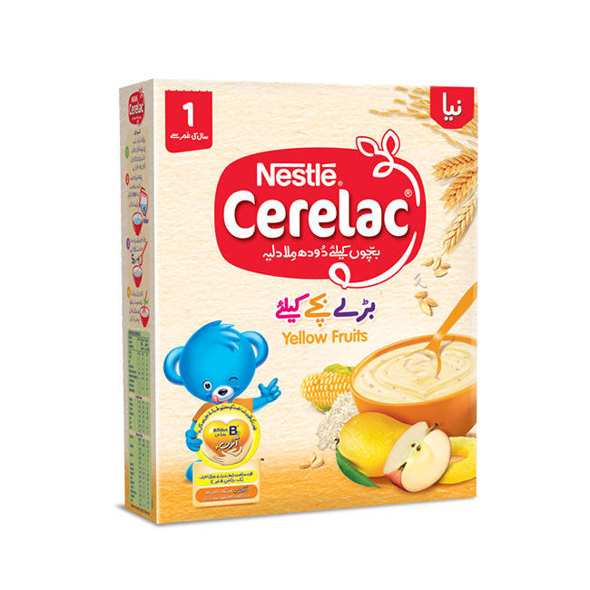 Nestle Cerelac Yellow Fruit Baby Food 175gm