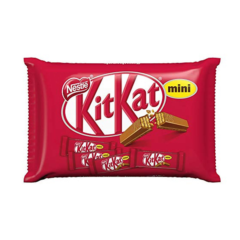 Nestle Kit Kat Mini Chocolate Assorted Pouch 200gm UK