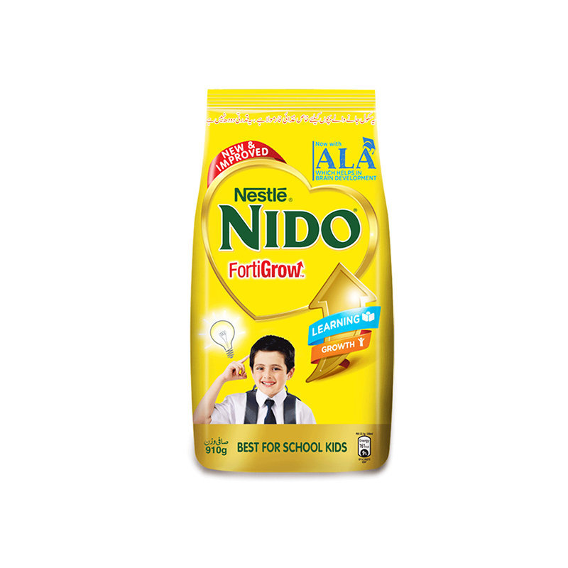 Nestle Nido Fortigrow Powder Milk Pouch 910gm