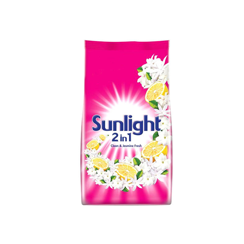 Sun Light Lemon n Thousand Flower Washing Powder Pouch 420gm
