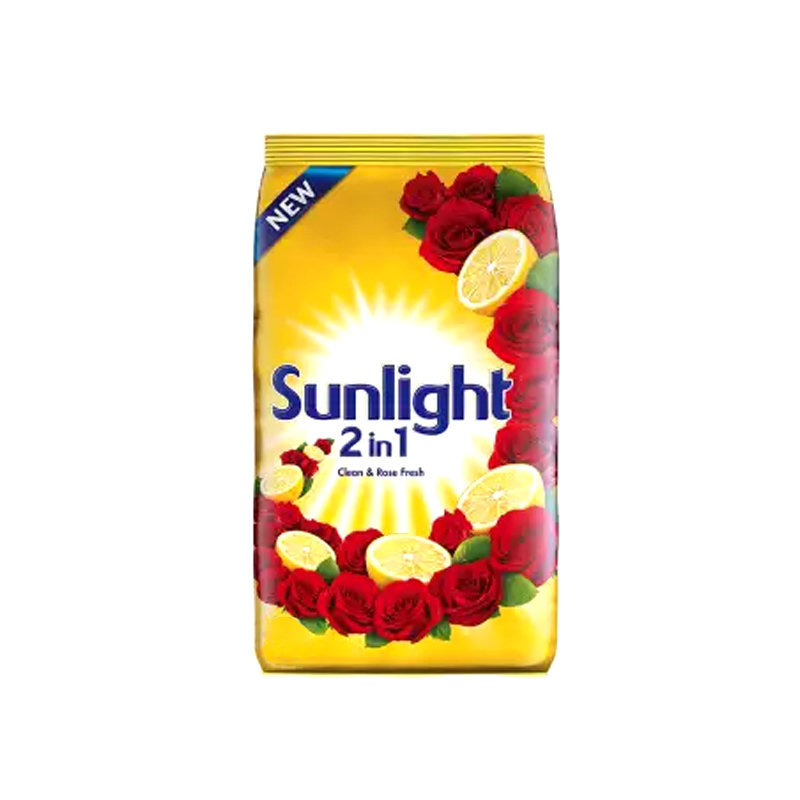 Sun Light Lemon n Rose Washing Powder Pouch 420gm