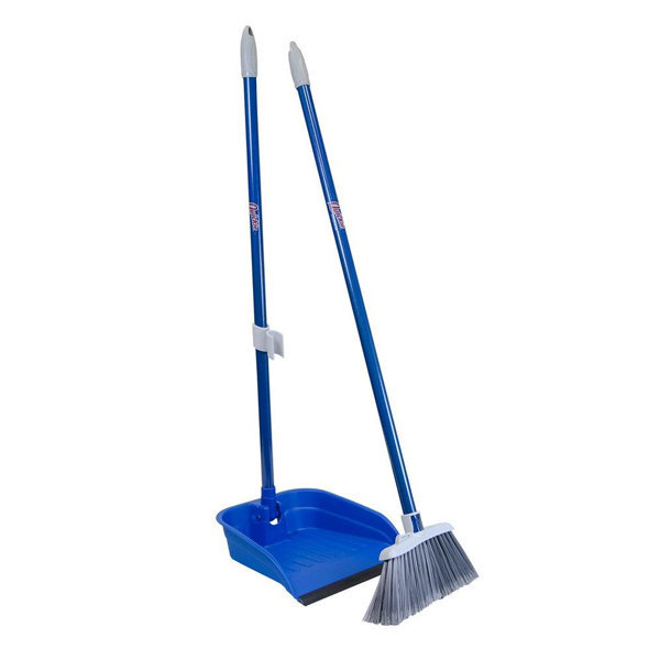 Chaseup Floor Brush With Dust Pan Set