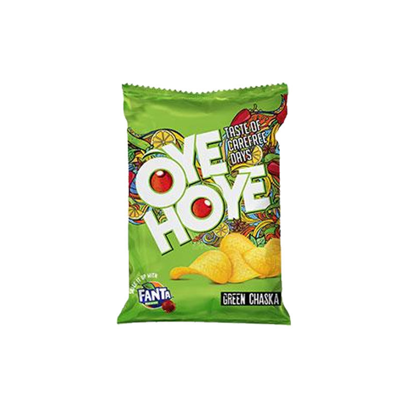 Oye Hoye Green Chaska Chips 45gm