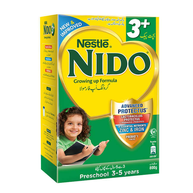 Nestle Nido 3+ Baby Milk Powder Box 800gm