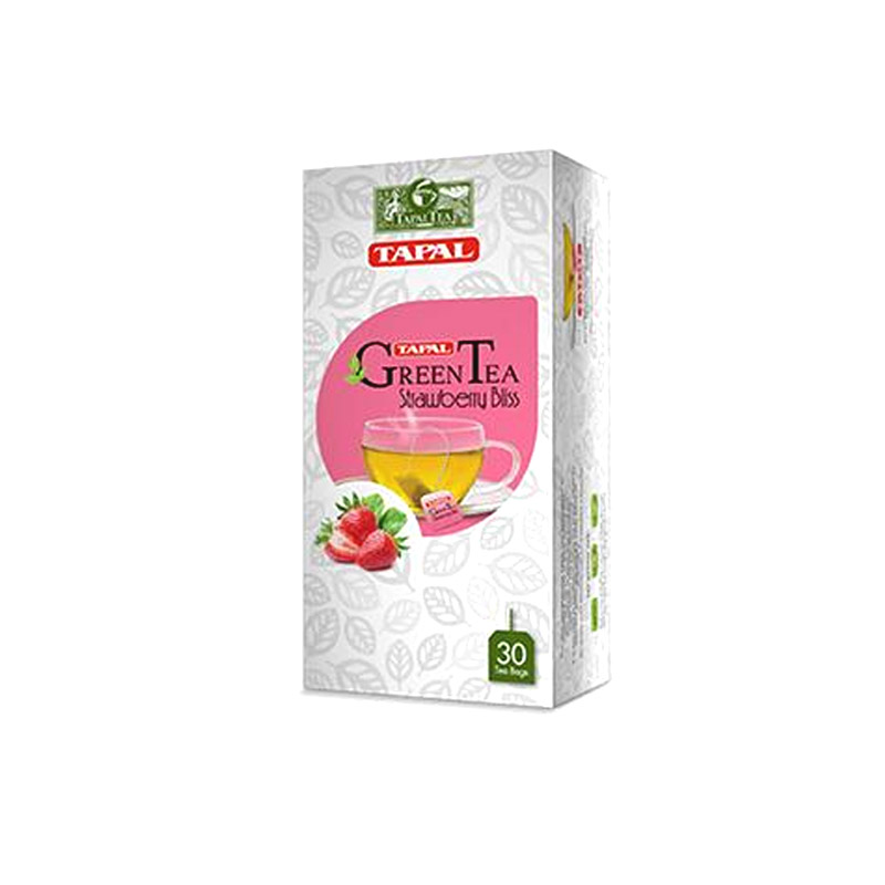 Tapal Strawberry Bliss Green Tea T/B 45gm 30pcs