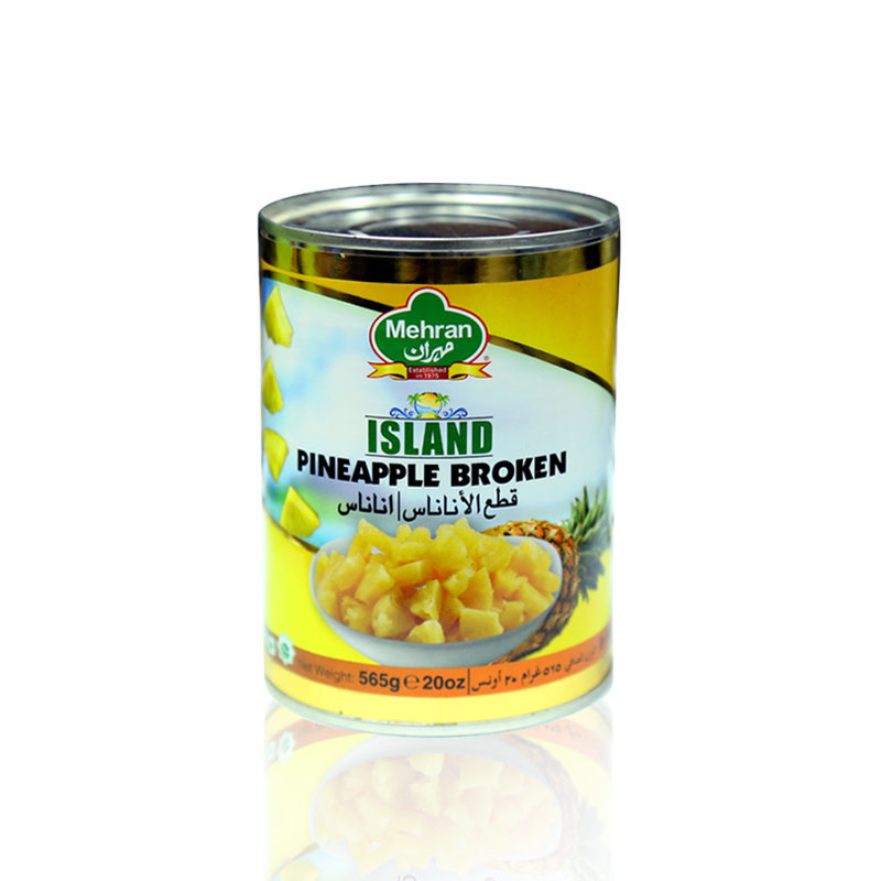 Mehran Broken Pineapple Tin 565gm