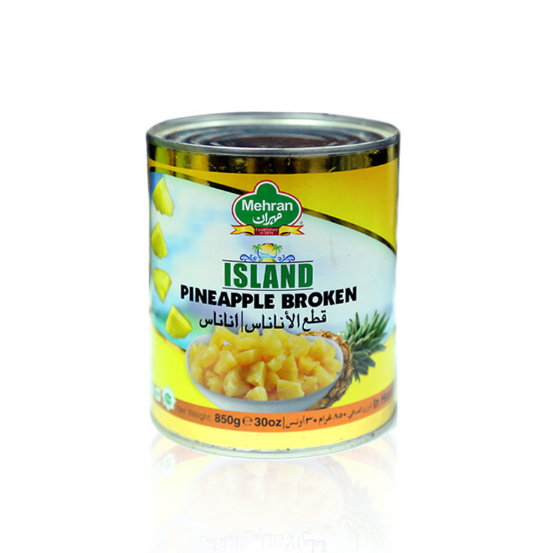 Mehran Broken Pineapple Tin 850gm