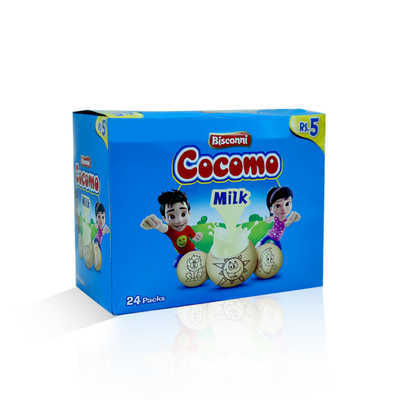Bisconni Cocomo Milk Biscuit T-P Box 24pcs