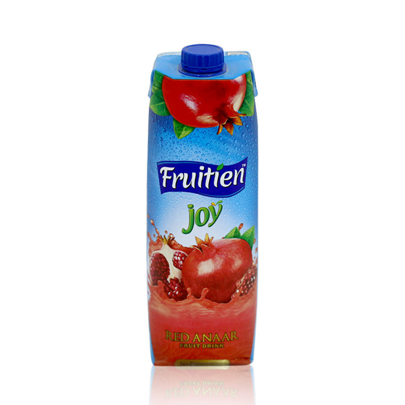 Fruitien Joy Red Anaar Drink Juice Tetra Pack 1ltr