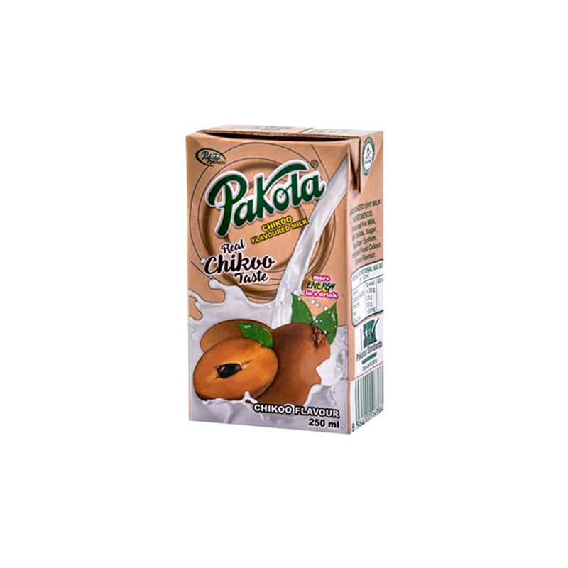 Pakola Chikoo Flavored Milk 250ml
