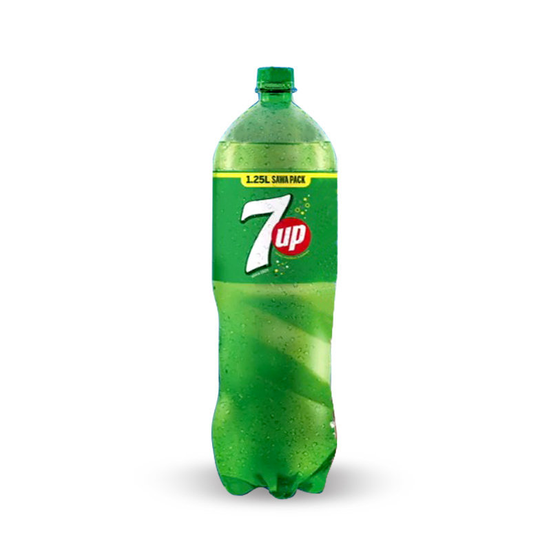 Pepsi 7up Soft Drink Pet Bottle 1.25ltr