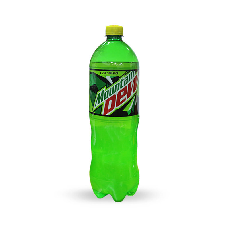 Pepsi Mountain Dew Soft Drink Pet Bottle 1.25ltr
