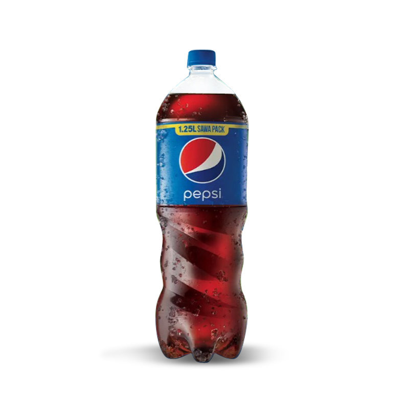Pepsi Soft Drink Pet Bottle 1.25ltr