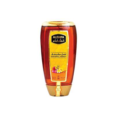 Alshifa Natural Honey Squeezy Bottle 400gm