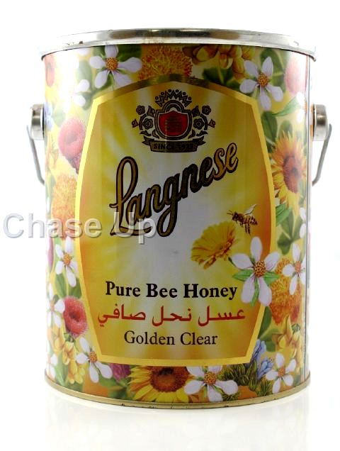 Langnese Natural Honey Jar 3kg