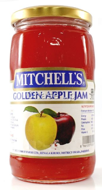 Mitchells Golden Apple Jam 450gm