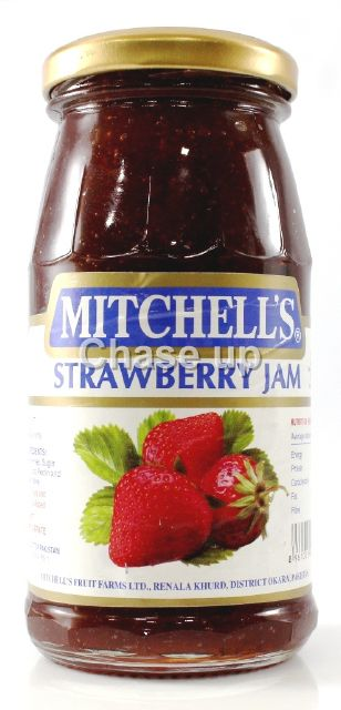 Mitchells Strawberry Jam 340gm
