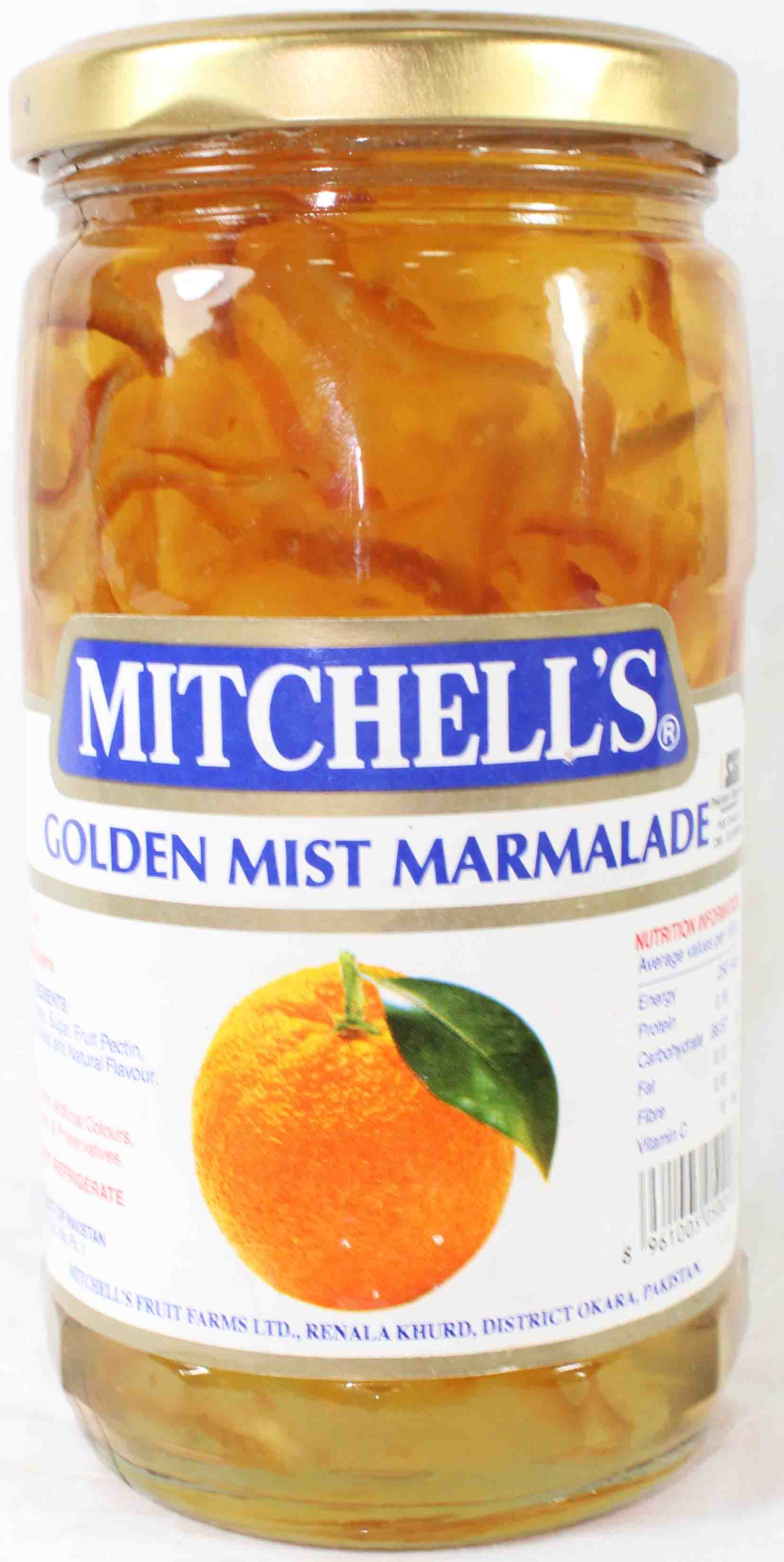Mitchells Golden Mist Marmalade 450gm