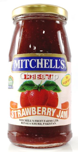 Mitchells Diet Strawberry Jam 325gm