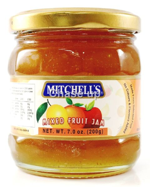 Mitchells Mix Fruit Jam 200gm