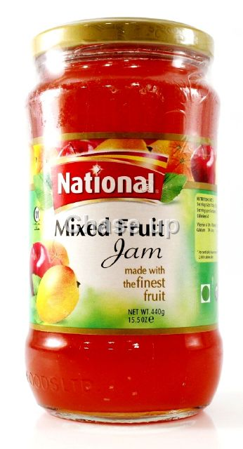 National Mix Fruit Jam 440gm