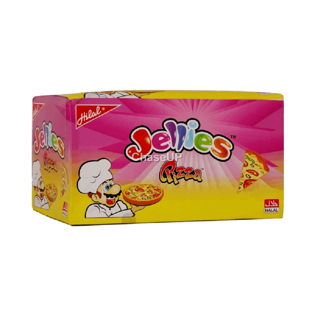 Hilal Pizza Jelly Box 24pcs