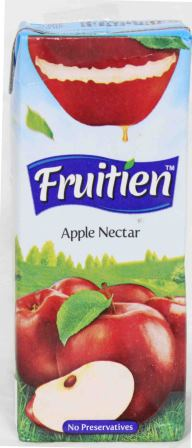 Fruitien Apple Nectar Juice Tetra Pack 200ml