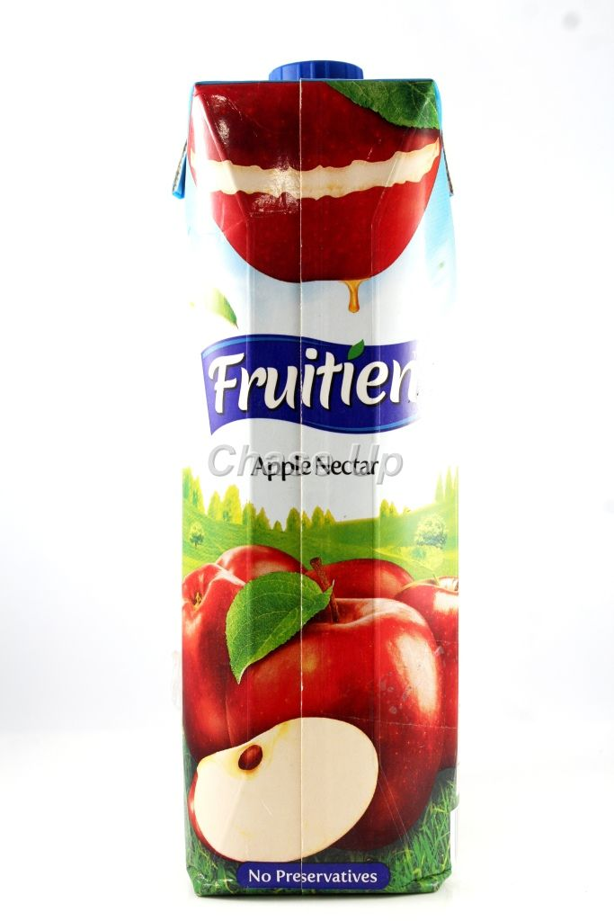 Fruitien Apple Nectar Juice Tetra Pack 1ltr