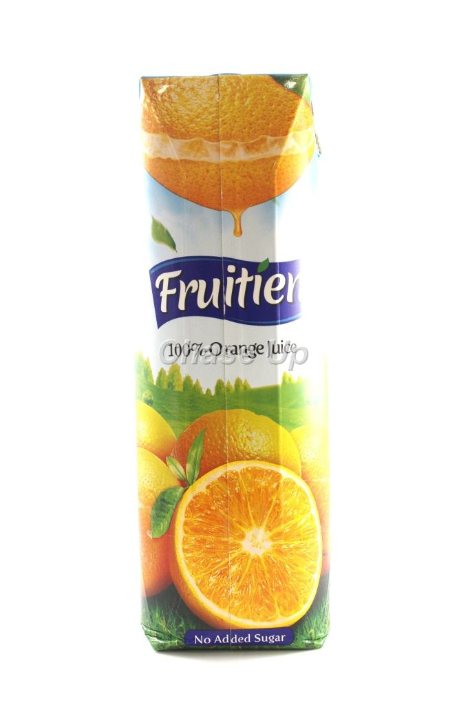 Fruitien Orange 100% Juice Tetra Pack 1ltr