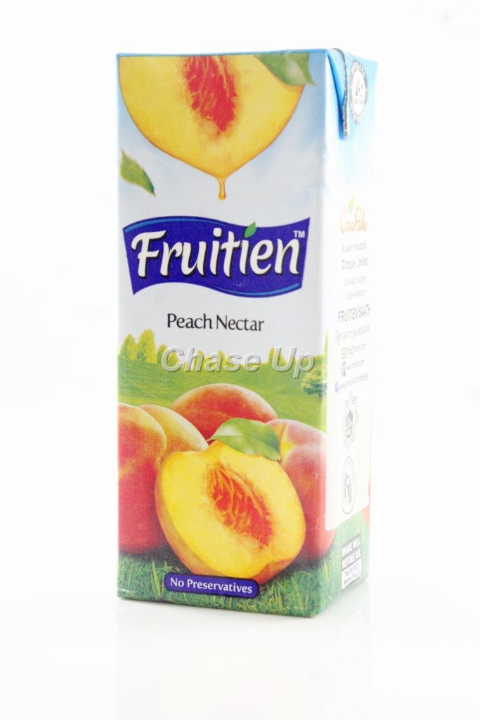 Fruitien Peach Nectar Juice Tetra Pack 200ml