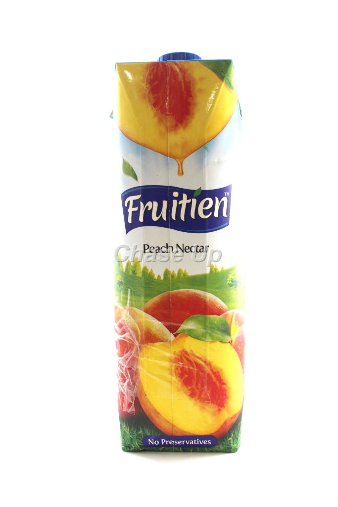 Fruitien Peach Nectar Juice Tetra Pack 1ltr