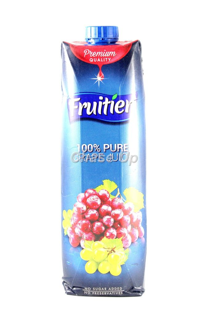 Fruitien Red Grape Nectar Juice Tetra Pack 1ltr