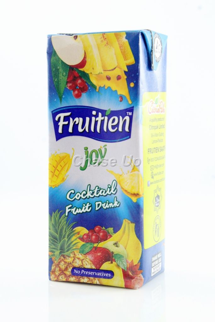 Fruitien Joy Cocktail Drink Juice Tetra Pack 200ml