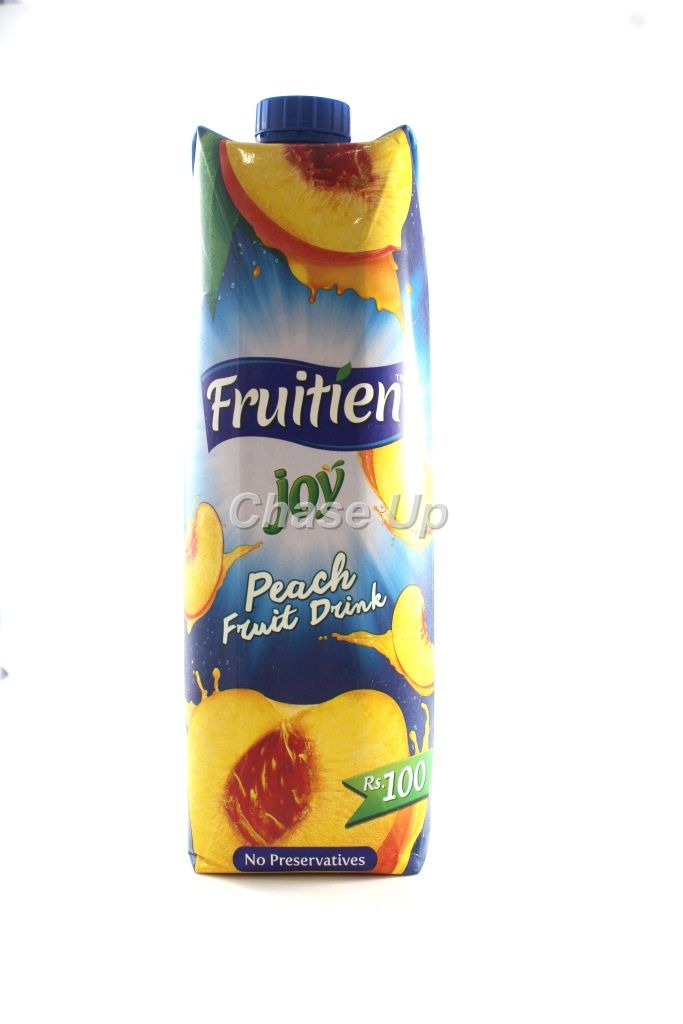 Fruitien Joy Peach Drink Juice Tetra Pack 1ltr