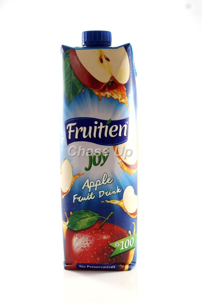 Fruitien Joy Apple Drink Juice Tetra Pack 1ltr