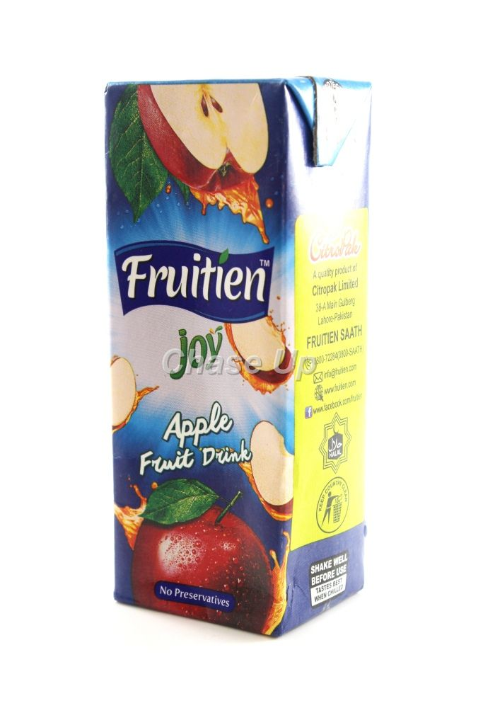 Fruitien Joy Apple Drink Juice Tetra Pack 200ml