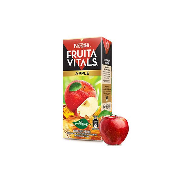 Nestle Fruita Vital Apple Juice Tetra Pack 200ml